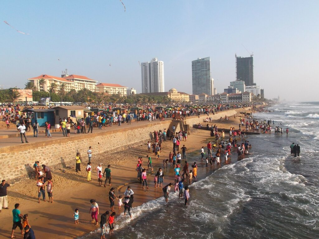 Colombo - capitl of Sri Lanka